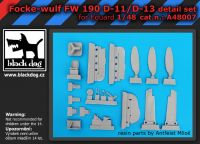 A4807 1/48 Fw -190 D-11-13 Blackdog