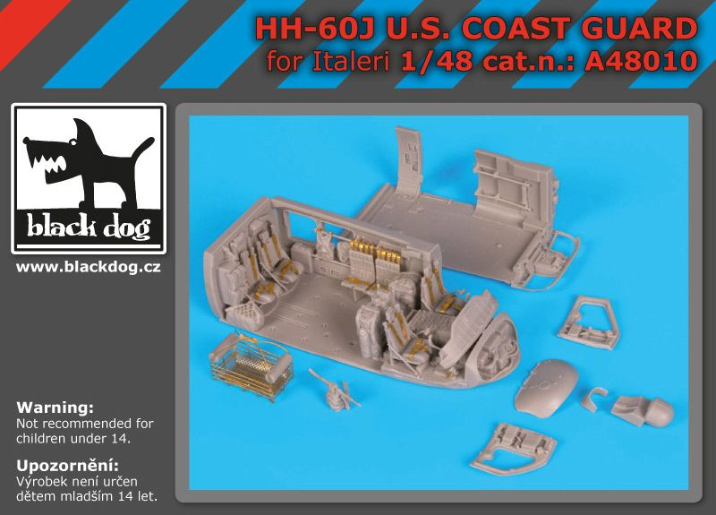 A48010 1/48 HH-60J U.S Coast Guard Blackdog