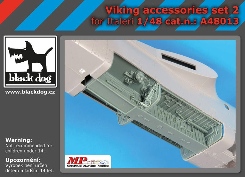 A48013 1/48 Viking accessories set N°2 Blackdog