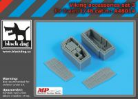 A48014 1/48 Viking accessories set N°3 Blackdog