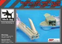 A48021 1/48 Westland Lynx HMA8 big accessories set Blackdog