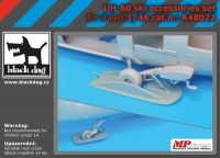 A48022 1/48 UH -60 ski accessories set
