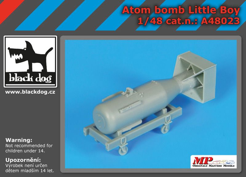 A48023 1/48 Atom bomb Little Boy Blackdog