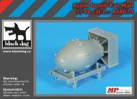 A48024 1/48 Atom bomb Fat Man Blackdog