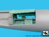 A48026 1/48 Grumman OV 1D Mohawk rear electronic Blackdog