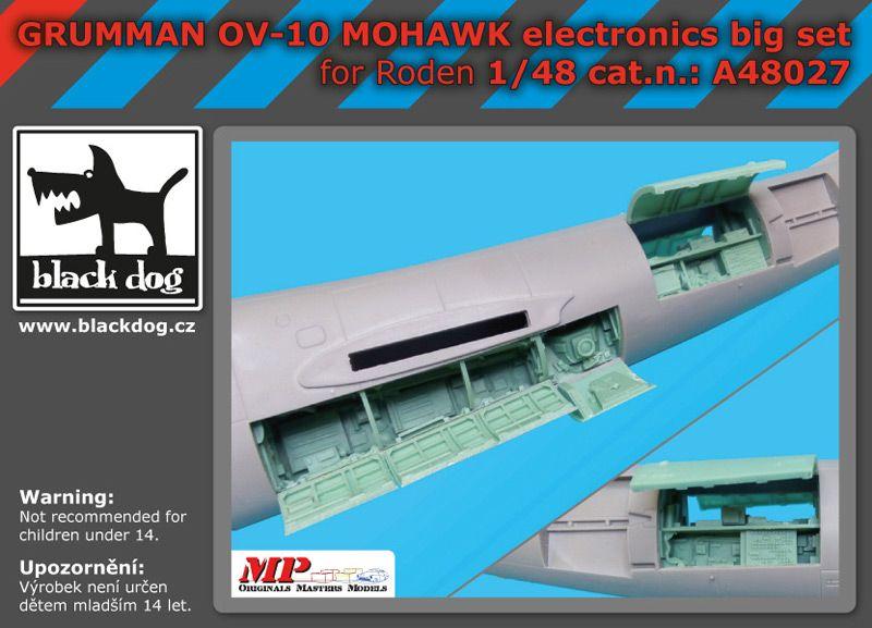 A48027 1/48 Grumman OV 1D Mohawk electronic big set Blackdog