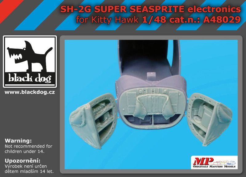 A48029 1/48 SH-2 G Super Seasprite electronic Blackdog