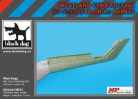 A48032 1/48 Westland Lynx AH 7 tail Blackdog