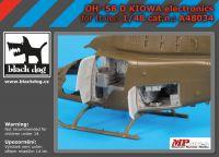 A48034 1/48 OH -58 D Kiowa Blackdog