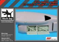 A48035 1/48 V-22 engine