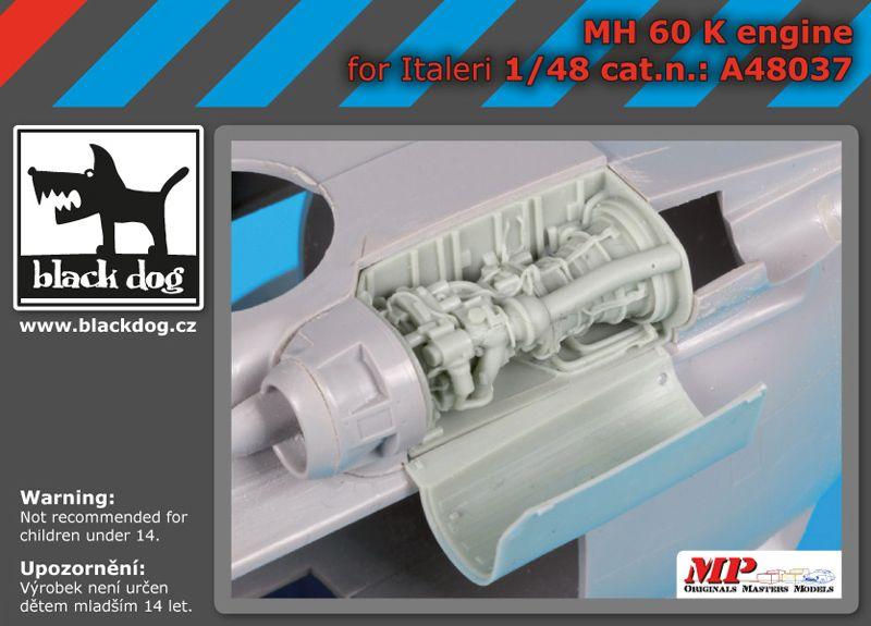 A48037 1/48 MH-60 K engine Blackdog