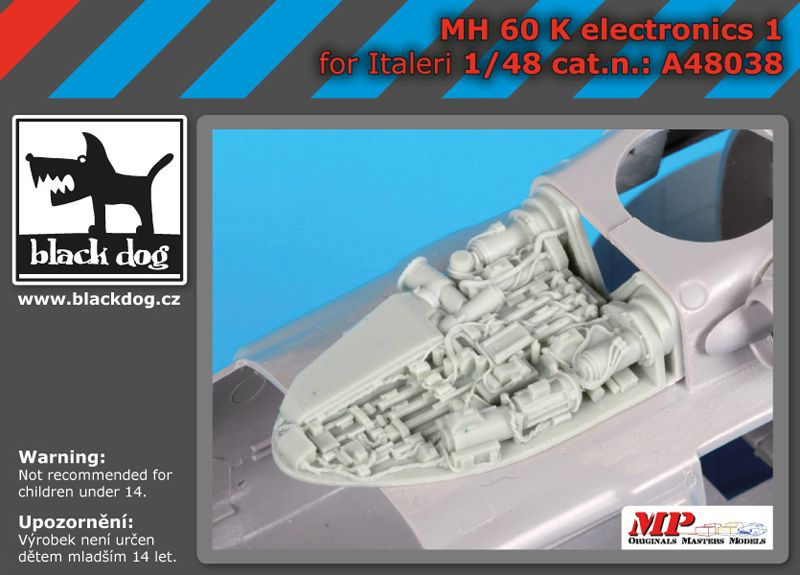 A48038 1/48 MH-60 K electronic 1 Blackdog