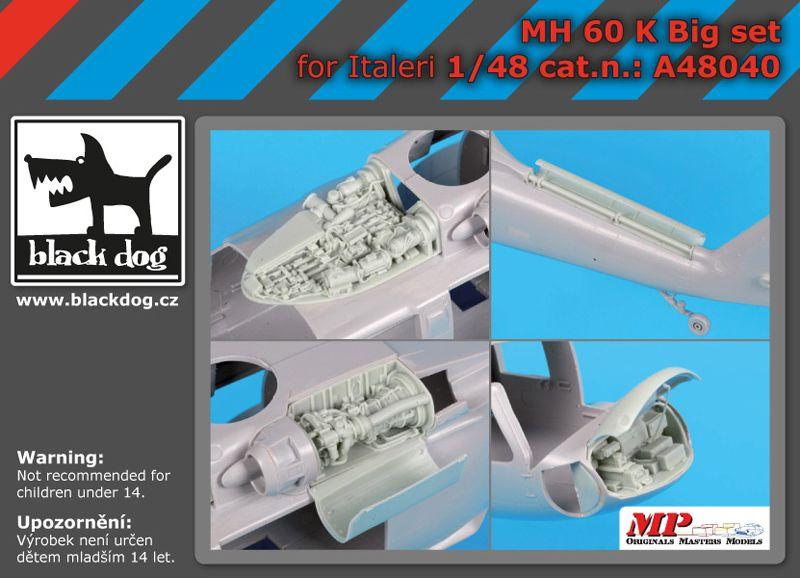 A48040 1/48 MH-60 K big set Blackdog
