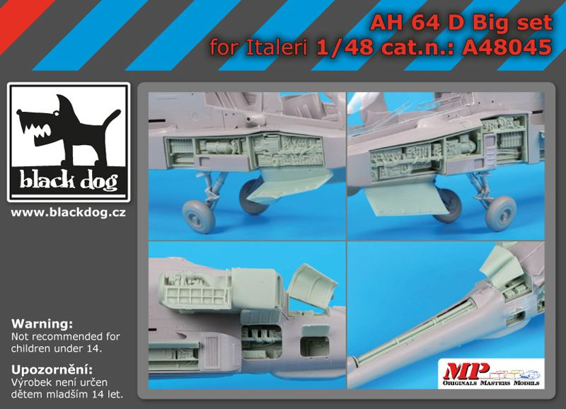 A48045 1/48 AH-64 D big set Blackdog