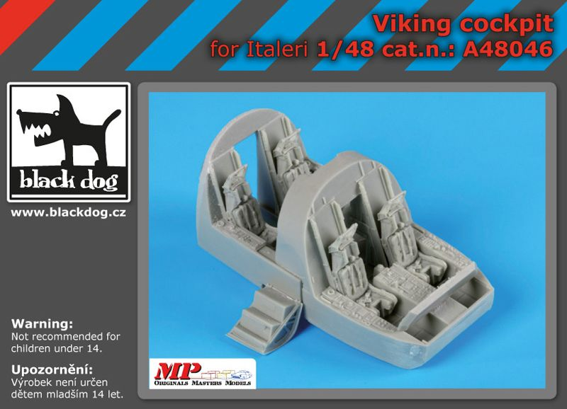 A48046 1/48 Cocpit Viking Blackdog