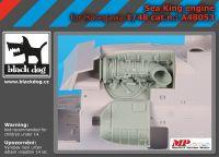 A48053 1/48 Sea King engine Blackdog