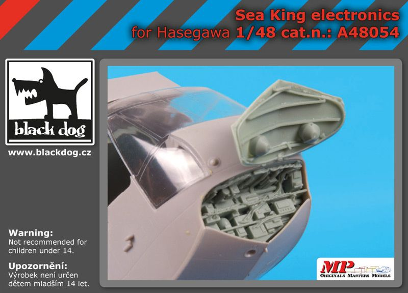 A48054 1/48 Sea King electronic Blackdog