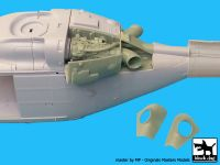 A48056 1/48 Westland Lynx AH-7 engine Blackdog
