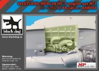 A48058 1/48 Westland Merlin HC-3 engin N°1