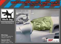 A48059 1/48 Westland Merlin HC-3 engin N°2 Blackdog