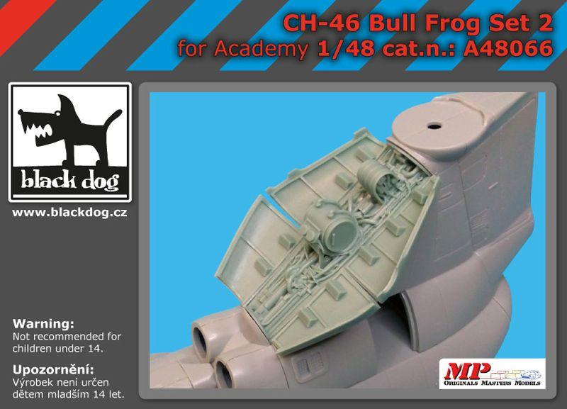 A48066 1/48 CH-46 Bull Frog set 2 Blackdog