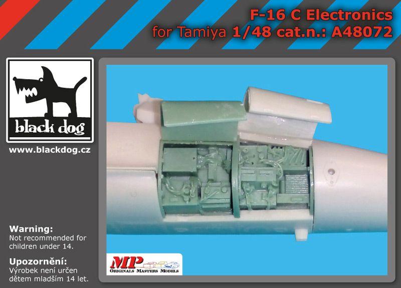 A48072 1/48 F-16 C electronics Blackdog