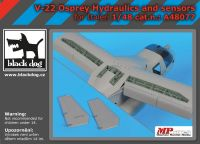 A48077 1/48 V-22 Osprey Hydraulics and sensors