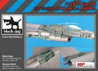 A48081 1/48 F-16 C big set