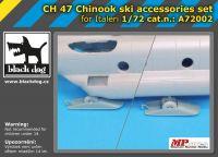A7202 1/72 CH-47 Chinnok ski accessories set