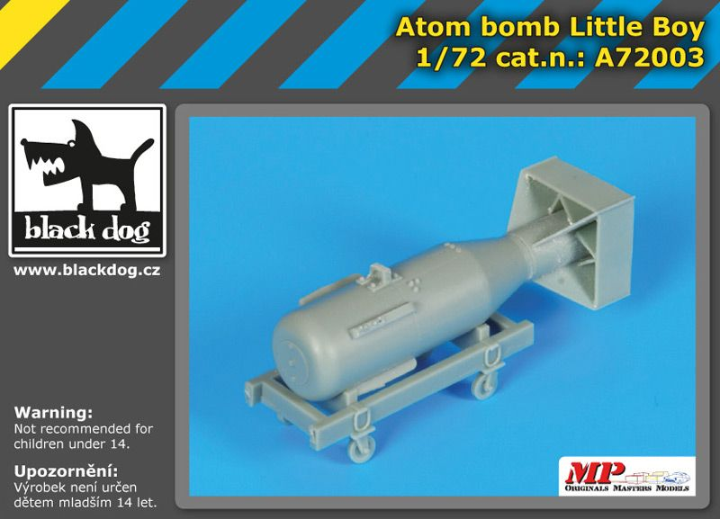 A7203 1/72 Atom bomb Little Boy Blackdog