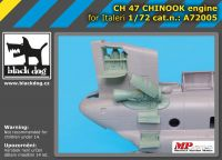 A7205 1/72 Ch-47 Chinnok engine Blackdog