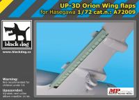 A7209 1/72 UP-3 D Orion wing flaps