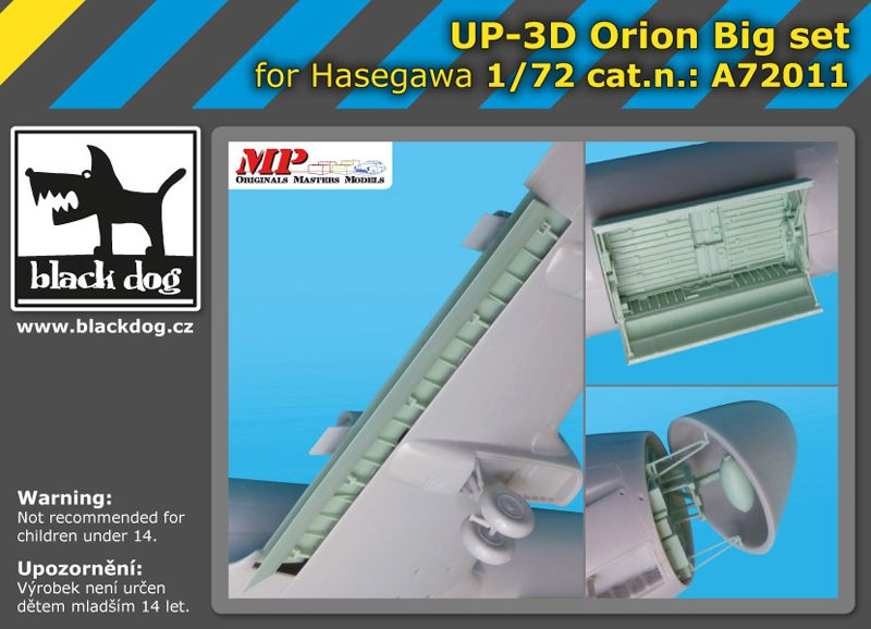 A72011 1/72 UP-3 D Orion big set Blackdog