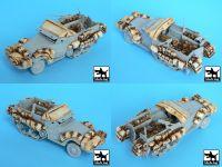 T72016 1/72 M3 Half Track +amphibian vehicle Blackdog