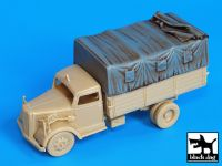 T72019 1/72 Canvas for Opel Blitz Blackdog