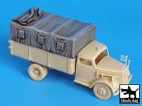 T72019 1/72 Canvas for Opel Blitz