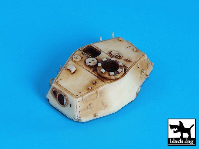 T72022 1/72 King Tiger turret Blackdog