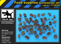 T72024 1/72 Food supplies accessories set Blackdog