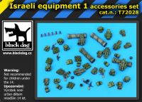 T72028 1/72 Israeli equipment 1 Blackdog