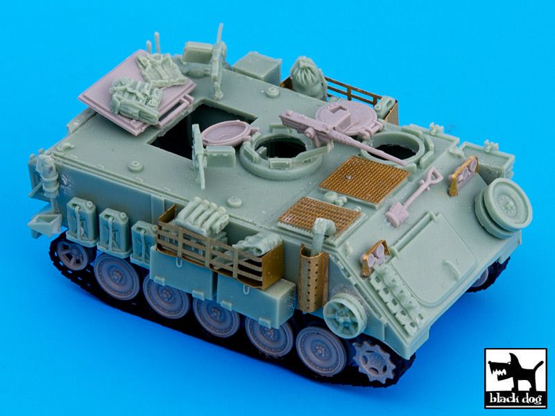 T72032 1/72 IDF M113 Command vehicle conversion set Blackdog
