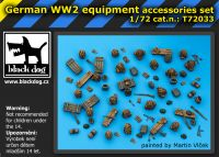 T72033 1/72 German WW II equipment Blackdog