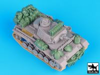 T72037 1/72 German Pz.Kpw III Ausf.N DAK accessories set
