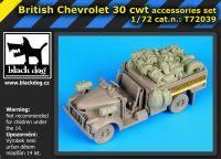 T72039 1/72 British Chevrolet 30 cwt accesories set Blackdog