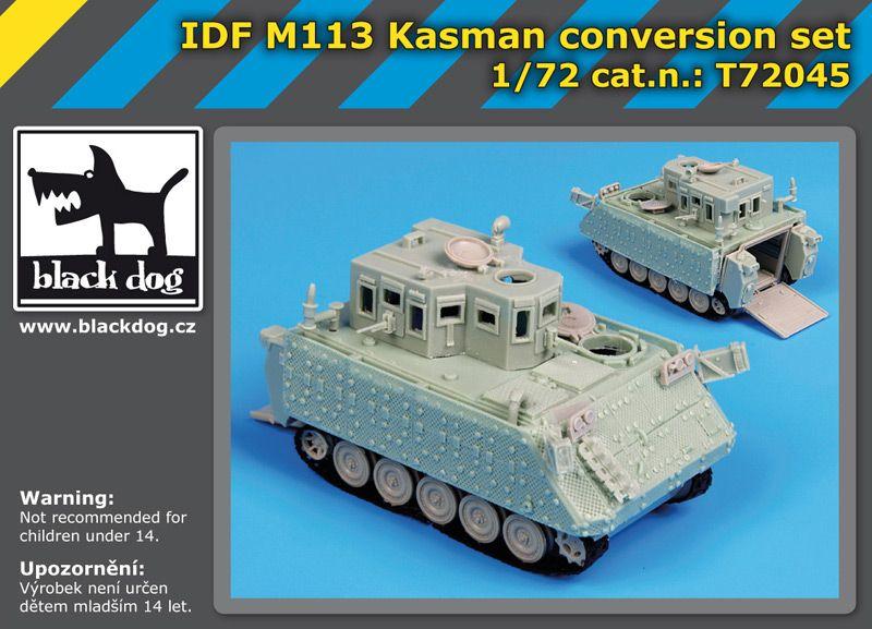 T72045 1/72 IDF M113 Kasman conversion set Blackdog