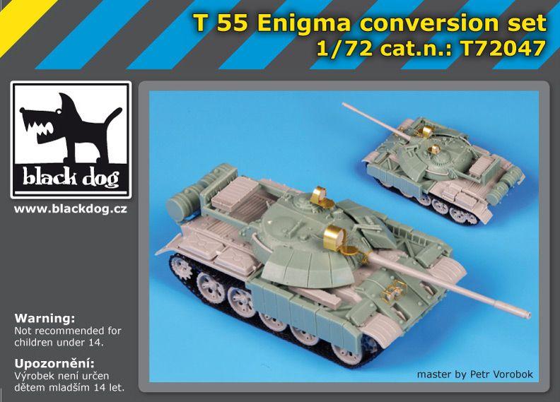 T72047 1/72 T-55 Enigma cosion setnver Blackdog
