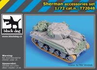 T72048 1/72 Sherman accessories set Blackdog