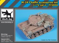 T72050 1/72 M24 Chaffe accessories set