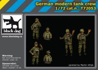 T72053 1/72 German modern tank crew Blackdog