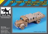 T72054 1/72 DBL-4500 S cargo accessories set