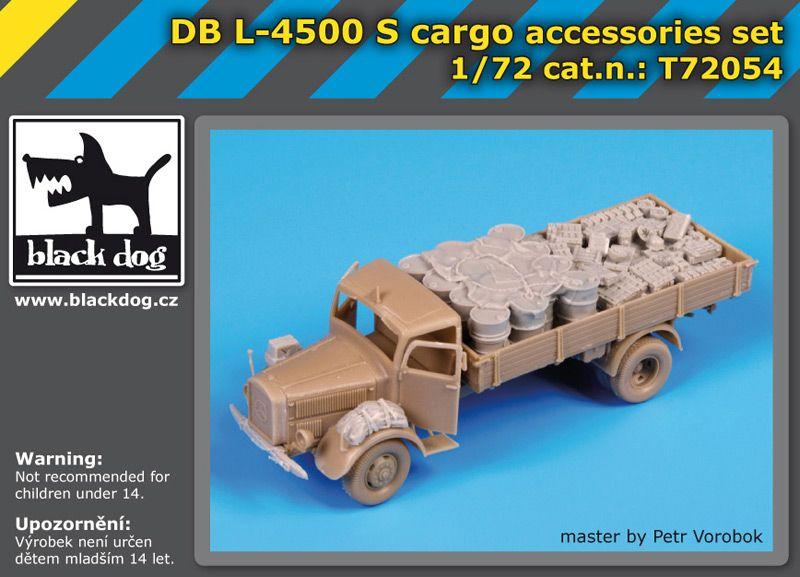 T72054 1/72 DBL-4500 S cargo accessories set Blackdog